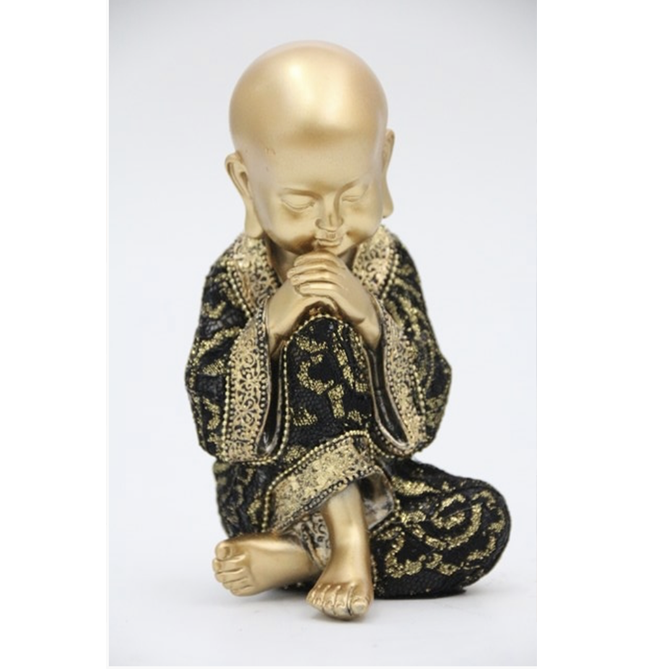Buda decorativo de poliresina