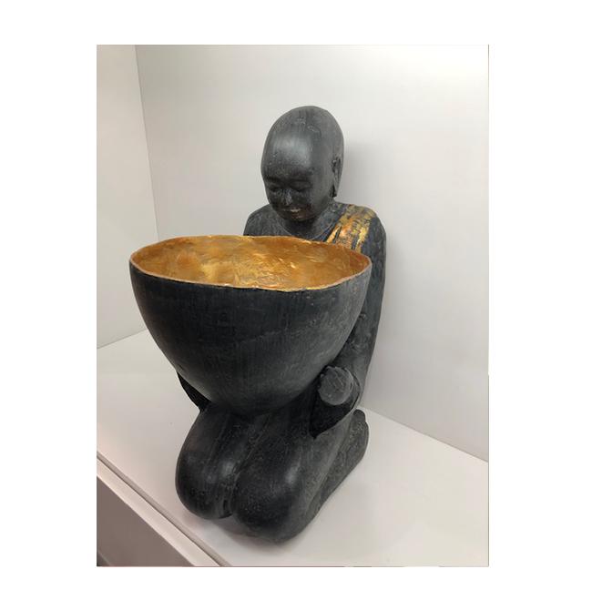 Escultura com Pote